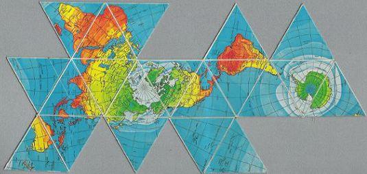 Buckminster fuller and Maps on Pinterest