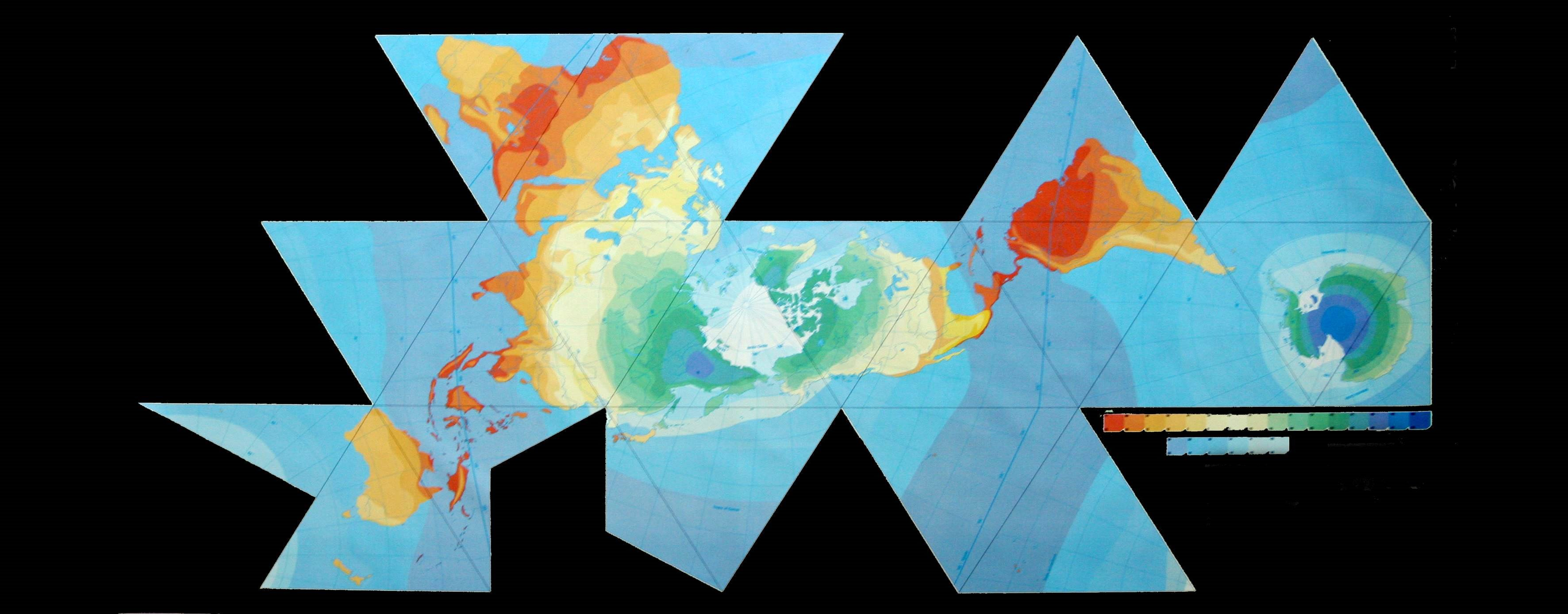 Dymaxion Map on