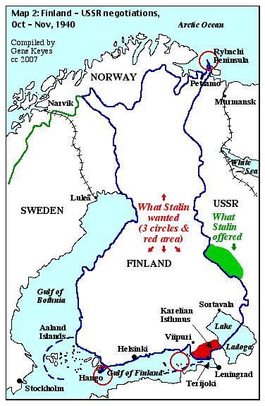 Stalins finland fiasco nonviolent defense clues map 2 finnish russian negotiation oct nov 1939 gumiabroncs Images