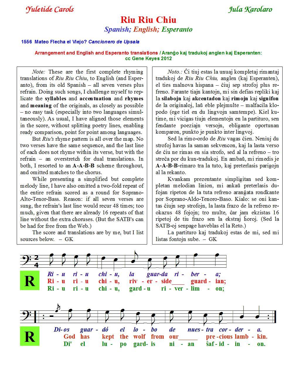 Riu-Riu-chorus