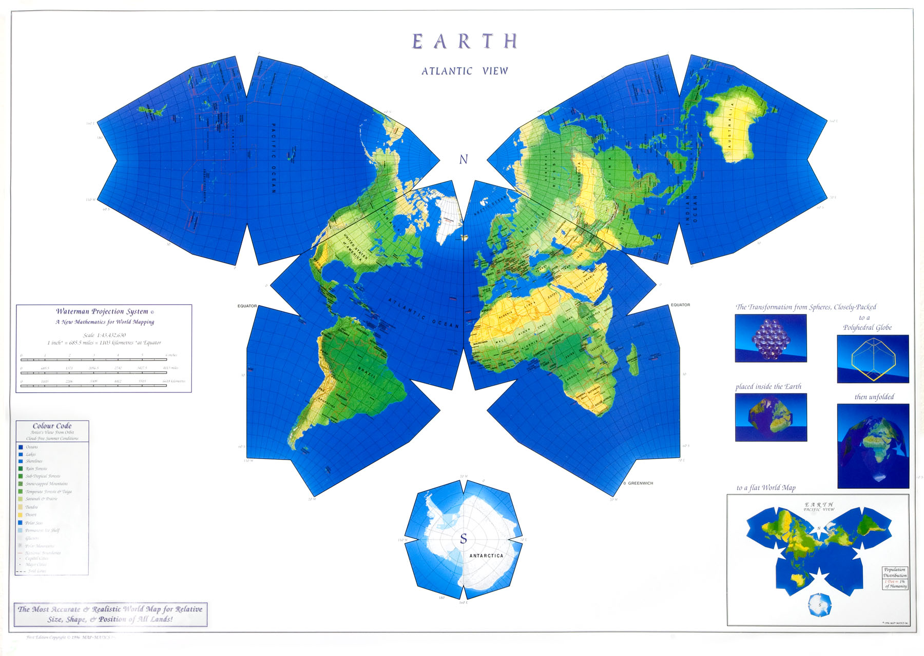 New Map Of Earth.West Wing Clip On Sanctioning A New Map Of The World Videos